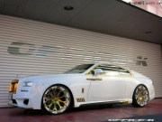 白色车身加入金色细节 改劳斯莱斯魅影