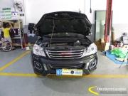 长城哈弗H6新车升级原装Q5双光透镜