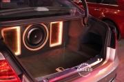 杭州动听音符-奥迪A8音响改装,美国捷力低音的狂热