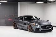 奔驰AMG GT S改装磨砂青铜ADV.1轮毂