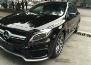 奔驰GLA改装AMG包围尾翼套件,深圳专业汽车包围改装升级店