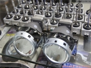 长城h6灯光升级q5透镜     深圳光速车改改灯