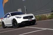 力拼Cayenne Turbo-Infiniti FX37+Stillen SC-515hp马力达成