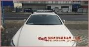 [拓越者自驾装备]奔驰CLS安装whispbar酷客行李架 和yakima车顶箱