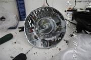 成都吉姆尼车灯改装Q5海拉LED天使恶魔眼双光透镜氙气大灯...