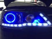 郑州朗途改灯 双光透镜 天使眼 LED泪眼改装 Q5/海拉双光透...