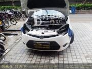 南京MG3大灯改装小系Q5透镜 改装进口欧司朗氙气灯...