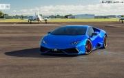 Sunus Motorsport改装蓝色镀铬兰博基尼Huracan
