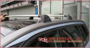 雪铁龙C4毕加索安装车顶行李架横杆和自行架效果展示