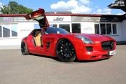 RFK改装红色奔驰SLS AMG