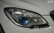 武汉别克昂科拉车灯改装全新海拉5透镜 商包飞利浦D1S灯泡