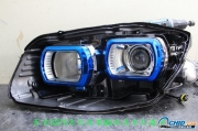 深圳15款长安CS75车灯改装升Q5双光透镜