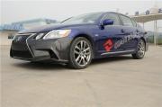 (大胆尝试)雷克萨斯GS改装碳纤维前杠实车亮相展示 后杠尾翼套件 ...