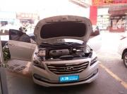 南宁大通现代名图安装360°全景泊车映像系统