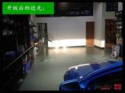 东莞雷克萨斯is200车灯升级4×海拉5双光透镜