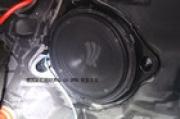 奔驰E300音响改装升级-港声音响