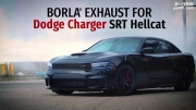 道奇Charger SRT Hellcat改装咆哮排气系统