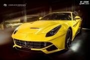 Carlex Design改装黄色法拉利F12的内饰