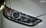 武汉新蒙迪欧车灯改装奥迪Q5双光透镜 商包飞利浦D1S 天使眼