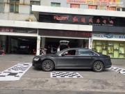 安全前行 奥迪A8汽车行车记录仪改装360行车记录仪—广州...