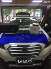 惠州非凡之聲 斯巴鲁 汽车音响改装 美国 路美3分频 LAK165.3