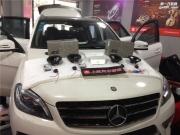 西安上尚奔驰ML350汽车音响改装德国RS系列 全车3M隔音升级