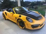 Topcar Carbon改装2017保时捷911涡轮S敞篷车