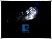 东风景逸大灯改装Q5双光透镜 欧司朗氙气灯 法雷奥安定器 ...