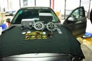 奔驰C260无损升级奔驰专用丹拿喇叭 锦上添花