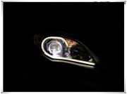 丰田卡罗拉大灯改装Q5双光透镜 欧司朗氙气灯 法雷奥安定....
