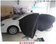 聊城长城C50改装汽车音响+隔音案例