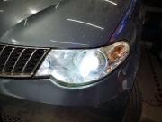 五菱宏光S改装LED双光透镜,这样的才叫车灯