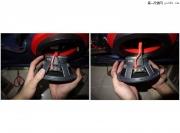 大众R32音响改装劲浪165A3套装喇叭