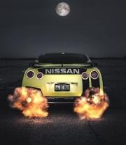 喷火暴龙双涡轮日产GT-R