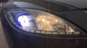 睿翼加装跑马日行灯和蓝色天使眼扬州动力灯改专业改灯