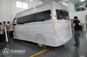 倍拓(上海)汽车科技---福特全顺内饰改装大变样