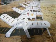 2019年全新款塑料海阳牌沙滩椅、沙滩桌、折叠扶手椅图片...