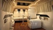 奔驰西安内饰改装航空座椅升级更加商务化