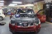 享受开车 重庆三正汽车音响 日产奇骏改装英国创世纪G65.2...