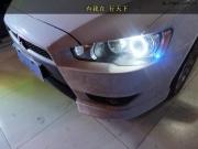 南京翼神改灯 改装Q5透镜搭配进口飞利浦灯泡 LED天使眼