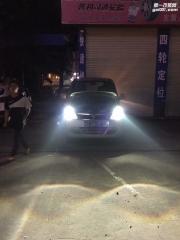 五菱车灯改装升级双光透镜【光速车改】