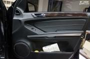 重庆渝大昌奔驰GL350汽车音响改装德国零点来福低音备胎倒模