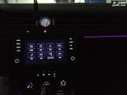 武汉 迈腾B8加装原厂30色氛围灯 带原装岑木内饰条