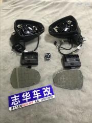 武汉 奥迪A3加装原厂电动折叠后视镜 电加热镜片