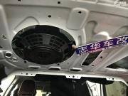 武汉 新款奥迪A4L更换B&O低音炮 根冶原车共振问题 原装BO音响
