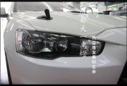 成都翼神车灯改装海拉5双光透镜欧司朗氙气灯天使眼