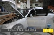 奔驰E260StP隔音改装 隔音减震品质升级