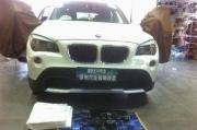 宝马X1音响升级改装德国ETON汽车音响