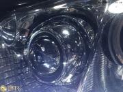 丰田皇冠升级4个双光透镜 双色泪眼