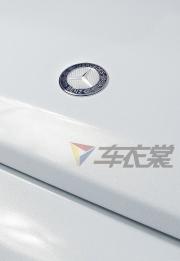 奔驰G55贴膜改色星光白